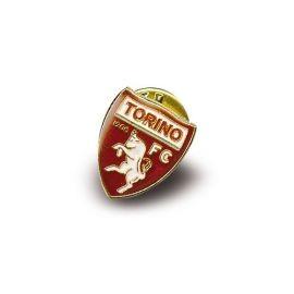 DISTINTIVO DORATO IN METALLO SMALTATO LOGO UFFICIALE TORINO FC