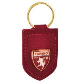 PORTACHIAVI IN PELLE E BORCHIA LOGO UFFICIALE TORINO FC