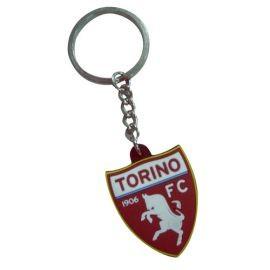 PORTACHIAVI IN PVC SCUDETTO LOGO UFFICIALE TORINO FC