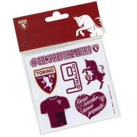 KIT 7 ADESIVI TORINO FC