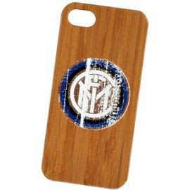 COVER IPHONE 5 5S LEGNO LOGO COLORATO INTER