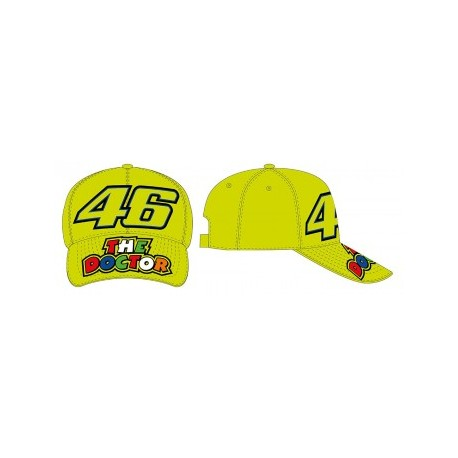 CAPPELLINO VR46 THE DOCTOR 46 GIALLO