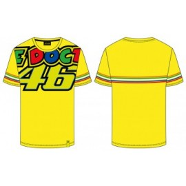 T-SHIRT VR46 THE DOCTOR 46 GIALLA TG.S