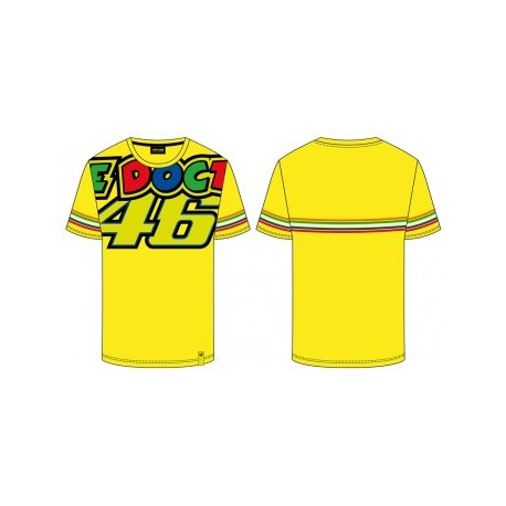 T-SHIRT VR46 THE DOCTOR 46 GIALLA TG.XL