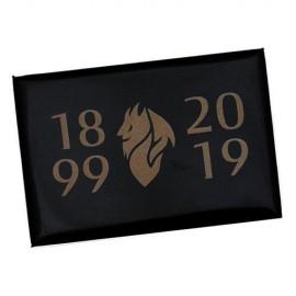 MAGNETE STAMPATO COLORE NERO 1899-2019 MILAN