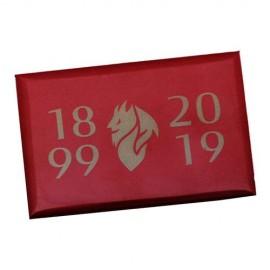 MAGNETE STAMPATO COLORE ROSSO 1899-2019 MILAN