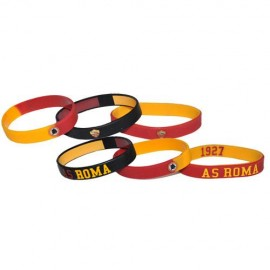 SET BRACCIALETTI IN SILICONE AS ROMA 1927