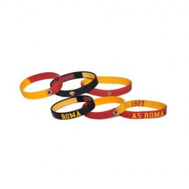 SET BRACCIALETTI IN SILICONE AS ROMA 1927 JUNIOR