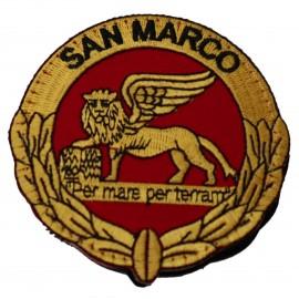 PATCH DISTINTIVO RICAMATO DA CUCIRE B.M. SAN MARCO AV M.M.