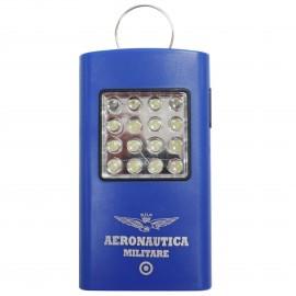 TORCIA LED BRIGHT HELPER CON 16 LUCI A LED BIANCHE FRONTALI E TRE LED LATERALI, STRUTTURA IN PLASTICA