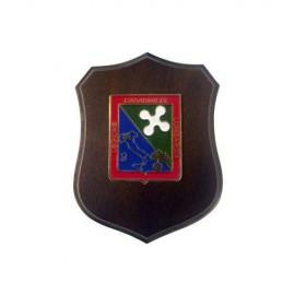 MINICREST CARABINIERI LEGIONE LOMBARDIA MIS CM 8,5X11,5