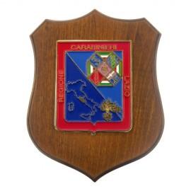 CREST CARABINIERI LEGIONE LAZIO MIS CM 22,5X17,5