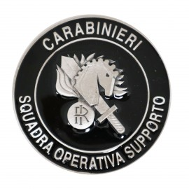 FERMACARTE IN METALLO CARABINIERI SQUADRA OPERATIVA DI SUPPORTO