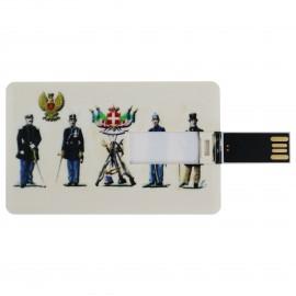 CHIAVETTA USB 8GB MODELLO CARTA DI CREDITO POLIZIA DI STATO